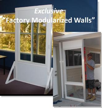 This Is Our Top Of The Line Modular Sunroom Walls System; Perfect To Create  That Four Season Living Space Out Of Your Existing Porch Or Patio Roof Line!