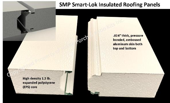 Three Season Screen Rooms Insulated Roofing Material