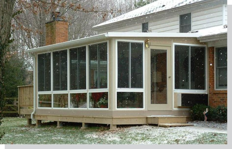 Omega modular sunrooms c thru diy sunroom kits for Modular sunrooms