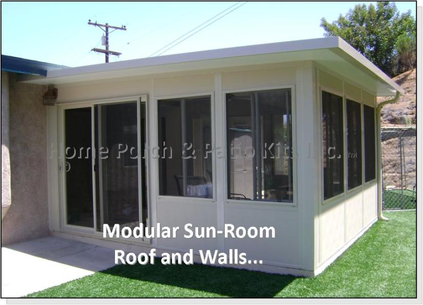 Four Season Diy Sunroom Kits, Enclosed Patio Room