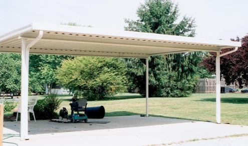 aluminum patio cover installation instructions