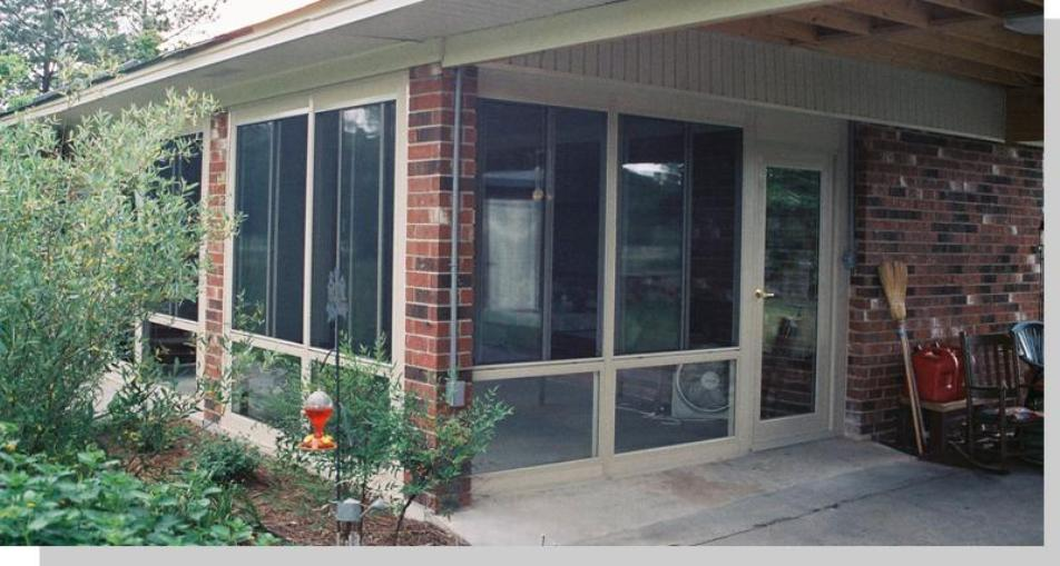 Walls only sunroom kit modular sunroom walls insulated for Modular sunrooms