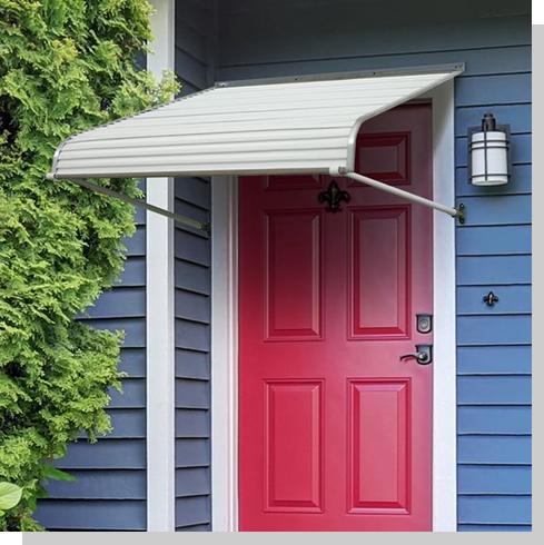 Door Canopies | Aluminum Door Awnings | Futureguard Series