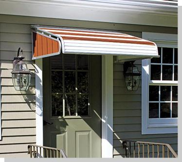 Awnings Aluminum Door Awnings Usa Sunbrella Fabric