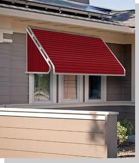 Outdoor Metal Window Awnings USA