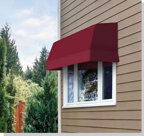 Outdoor Fabric Window Awnings USA | Series 4700 Sunbrella ...