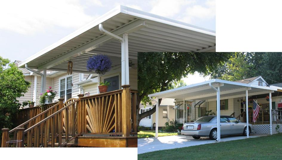 W Pan Patio Cover Kits Aluminum W Pan Roofing Systems Overhead Deck Cover